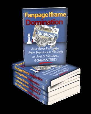 Pay for Fan Page iFrame Domination Theme - MRR