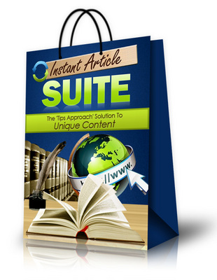 Pay for New! Instant Article Suite - Article Marketing Software