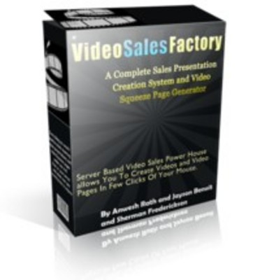 Pay for Video Sales Factory Software