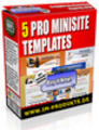 Thumbnail MiniSite Graphics Pro Volume 2 mit PLR & MRR