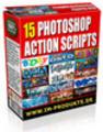 Thumbnail 15 Photoshop Action Scripts mit MRR