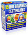 Thumbnail 15 Hot Graphic Certificates mit PLR