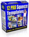 Thumbnail 12 PLR Squeeze Page Templates plus Video Tutorial