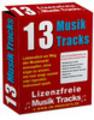 Thumbnail 13 Lizenzfreie Musik Tracks mit MRR