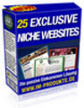 Thumbnail 25 Exclusive Niche Sites mit MRR