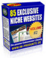 Thumbnail 85 Exclusive Niche Sites mit MRR