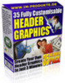 Thumbnail 35 Private Label Header Graphics with MRR