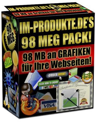 Pay for 98 Meg Marketing Grafik Paket mit MRR