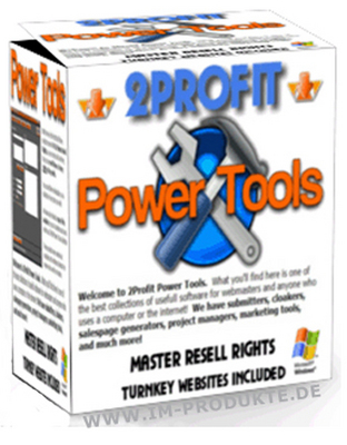 Pay for 2Profit Power Tools mit Master Reseller Rechten