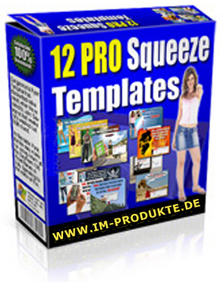 Pay for 12 PLR Squeeze Page Templates plus Video Tutorial