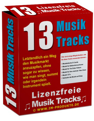 Pay for 13 Royalty Free Music Tracks with MRR