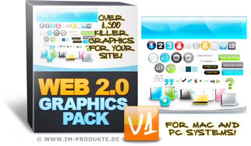Pay for Web 2.0 Graphics Pack V1 with MRR