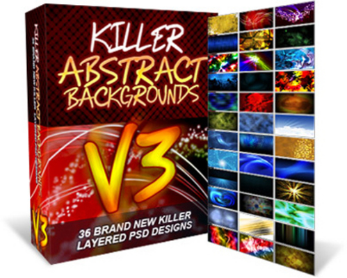 Pay for Killer Abstract Backgrounds V3 - MRR
