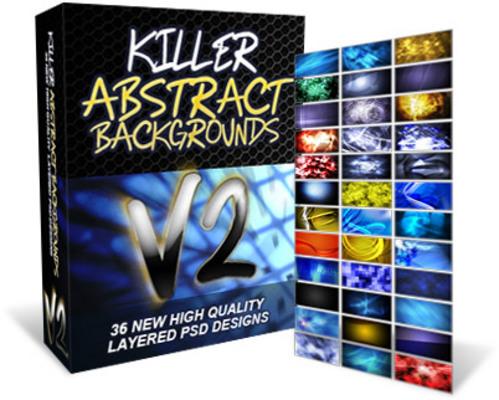 Pay for Killer Abstact Backgrounds V2 - MRR