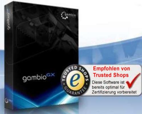 Pay for Gambio GX V 1.0.14 Shopsoftware mit SP 2.5c und Handbuch