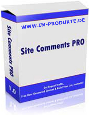 Pay for Site Comments Pro PHP Script - MRR