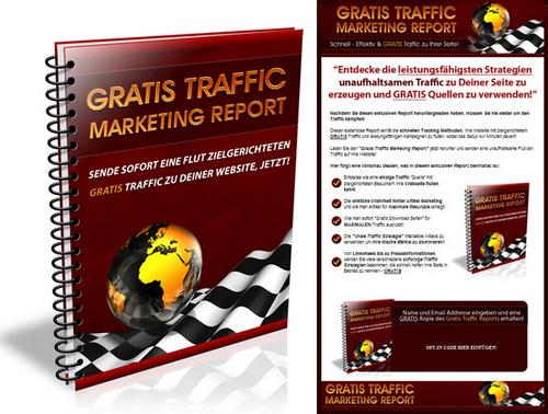 Pay for Ebook Webprojekt - Gratis Traffic - Marketing Report - PLR