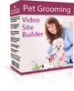 Thumbnail Pet Grooming Video Site Builder MRR