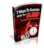 Thumbnail 7 Ways to Success While you Sleep MRR