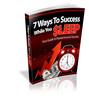 Thumbnail 7 Ways to Success While you Sleep MRR