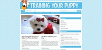 Thumbnail Train Your Puppy Niche Blog PLR