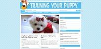 Thumbnail Train Your Puppy Niche Blog PLR