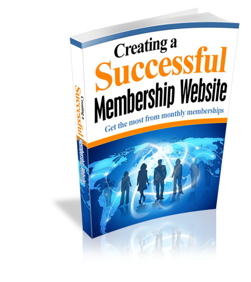 Pay for Creating a Successful Membership Website MRR