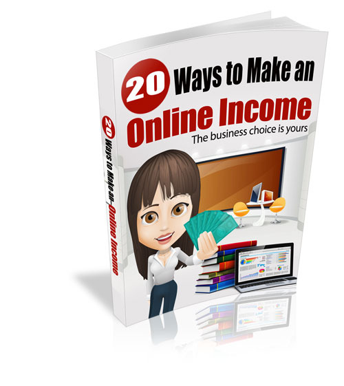 Pay for 20 Ways To Make An Online Income MRR