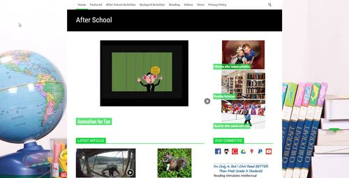 Pay for After School Niche Blog PLR