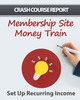 Thumbnail Membership Site Money Train