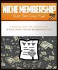 Thumbnail Niche Membership Site Tips