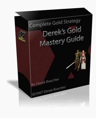 Pay for Dereks Wow gold mastery guide