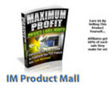 Thumbnail Maximum Profit PLR - Affiliates Earn 60 Percent!