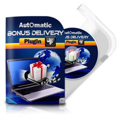 Pay for Automatic Bonus Delivery Plugin with Master Resell Rights