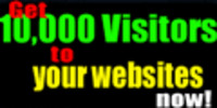 Thumbnail buy web  traffic - 10.000 website Visitors for $5.25 only