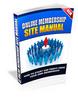 Thumbnail Online membership site manual
