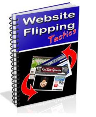 Pay for Site Flipping For Profits - Website Flipping Training Guide