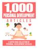 Thumbnail 1000 Personal Development Articles for Blogs