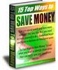 Thumbnail 15 Top Ways to Save Money