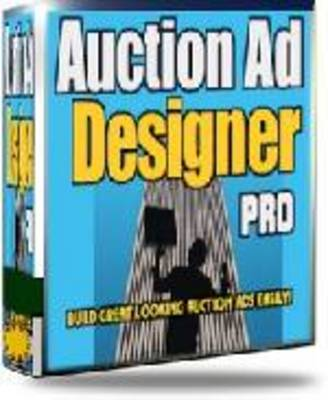 Pay for Auction Ad Designer