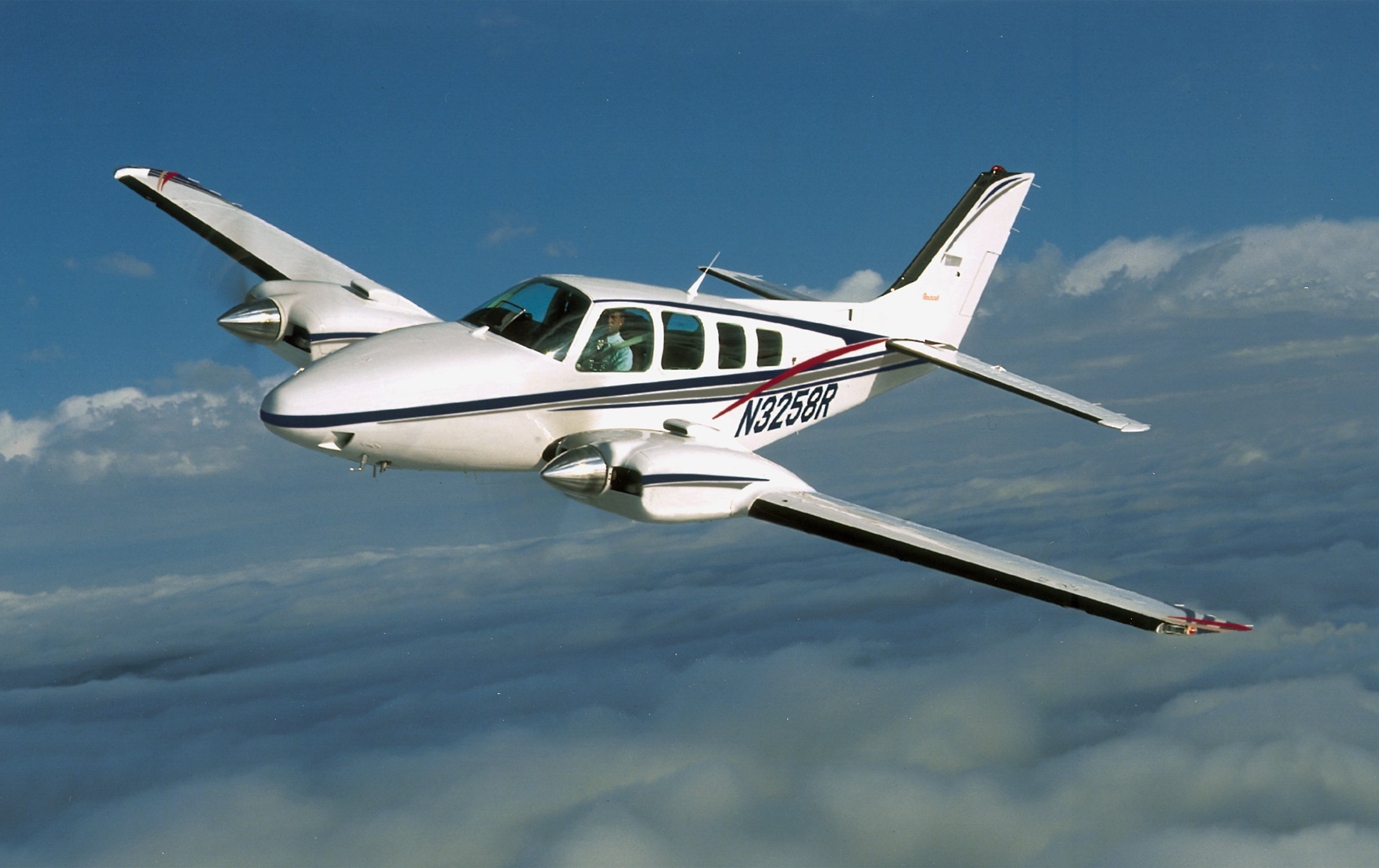 Beechcraft Baron parts & service manual B 55 56 58