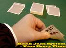 Thumbnail Black Jack System Wins Every Time