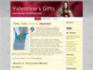 Thumbnail Valentines wordpress theme PLR