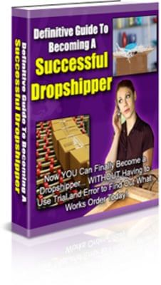 Pay for Definitive Guide To Becoming A Successful Dropshipper PLR Pa