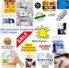 Thumbnail 1,600 Website Graphics Pack - Free MRR Rights!