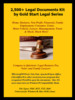 Thumbnail 2,500+ Legal Documents with Royalty Free License