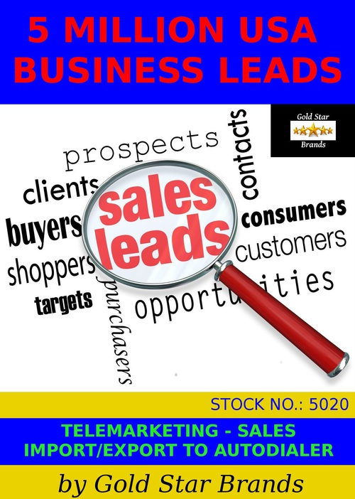 US States AK AL AZ CA Business Directory 1401880 Leads