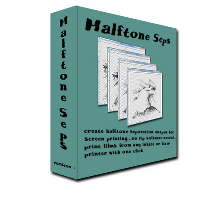 Pay for Halftone Separations for screen printing Photoshop action
