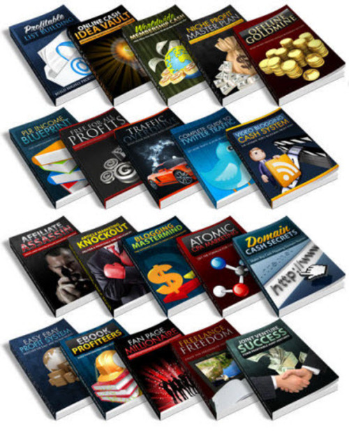 Pay for 39 Online Business E-book  Collection