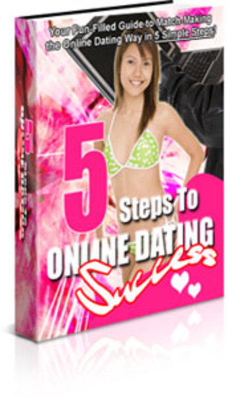 Pay for 5 Steps to Online Dating
